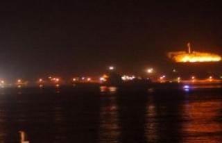 NATO Gemileri Boğazdan Geçti