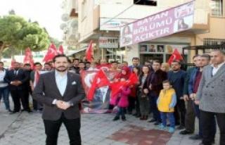 İzmir'de Protesto