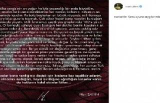 Nuri Şahin, Milli Takım'ı Bıraktı