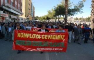 Öcalan'a Destek Yürüyüşü