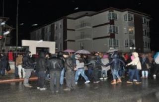 Öğrencilerden Taciz Protestosu