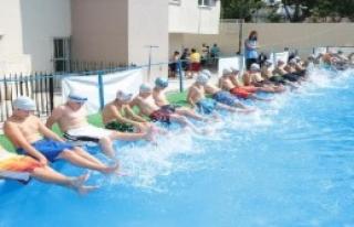 Portatif Havuzlar Çocukları Sevindirdi