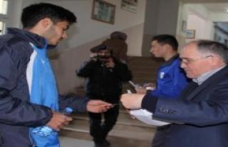 Orduspor'un 14 Futbolcusu YGS'de Ter Döktü