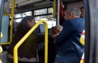 Otobüste Fenalaştı