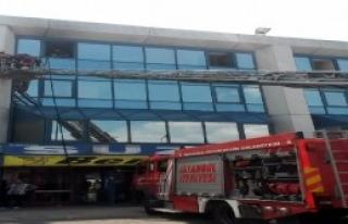 Otogarda Yangın Paniği
