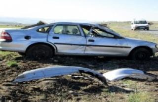 Otomobil Takla Attı: 6 Yaralı!