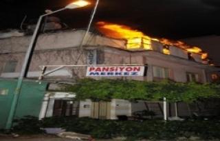Pansiyonda Korkutan Yangın