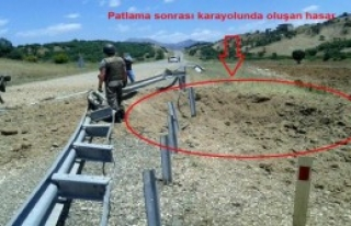 PKK'nın Tuzakladığı 200 Kilo Patlayıcı İmha...
