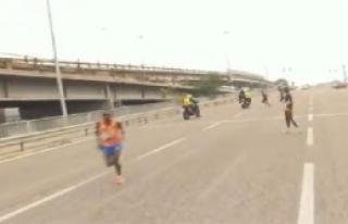 'Maratonu Bir İtalyan Kazandı'