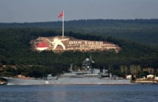 Rus Savaş Gemisi Azov, Akdeniz'e İniyor