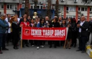 Doktor Cinayetlerine İzmir'den Tepki