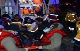 Sahil Güvenlikten Hastalara Yardım Eli