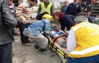 Kanalizasyon Çalışmasında Göçük: 2 Yaralı