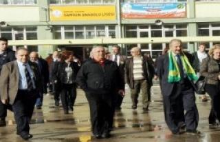Samsun Anadolu Lisesi Mezunu Profesörler Bir Araya...