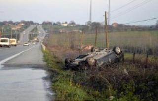 Samsun'da Kaza: 3 Yaralı