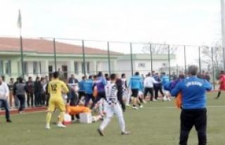 Şanlıurfa'da Amatör Maçta Olay