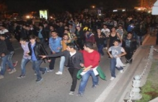 Şanlıurfa'da Derbi Kutlaması