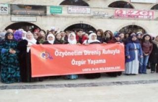 Şanlıurfa'da Kadınlardan Eylem