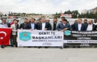 Şanlıurfa'da Kılıçdaroğlu'na Tepki