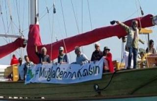 Şarkılı, Türkülü, Halaylı Sit Protestosu