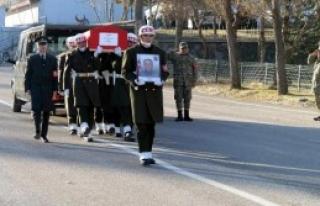 Şehit Asker Memleketine Gönderildi