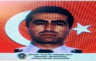 Şehit Polis, Kayseri'de Gözyaşlarıyla Toprağa...