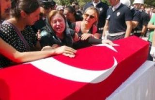 Şehit Polis Mardin'den Gözyaşlarıyla Uğurlandı