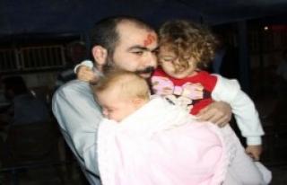 Hassa'da Ailesine Kavuştu