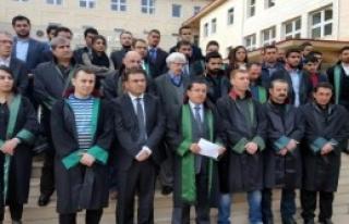 Siirt Barosu'ndan Tahir Elçi Protestosu