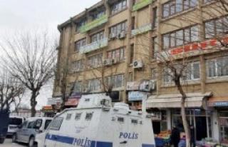 Siirt'te DBP Binasında Arama
