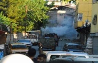 Siirt'te Suruç Saldırısını Protesto Gösterisinde...