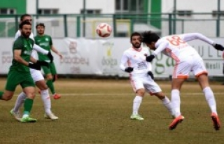 Sivas Belediyespor - Hatayspor: 2-2