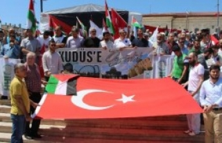 Sivas'ta Filistin'e Destek Açıklaması