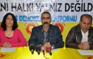 KESK'ten 'Kobani' Grevi