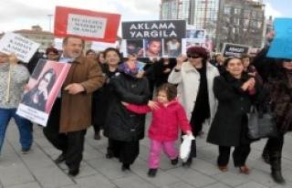 Sivas'ta 'Özgecan Aslan' Eylemi