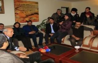 Başkanlar Diyarbakır'da