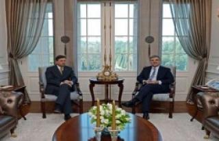 Sloven Cumhurbaşkanı Köşk'te