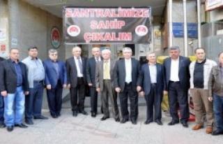 Soma'da Özelleştirme Karşıtı Grup Ankara Yolunda