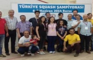 Squash Türkiye Şampiyonası Sona Erdi