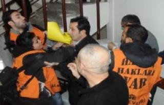 Su Zammı Protestosunda Yumruklar Konuştu