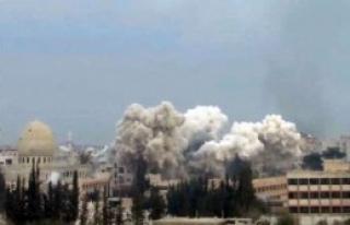 Suriye'de Bombardıman Sürüyor