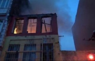 Suriyelilerin Kaldığı Evde Yangın...
