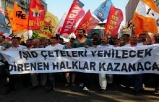 Suruç Patlaması Adana'da Protesto Edildi