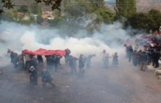 Sivas'taki Eyleme Gazlı Müdahale