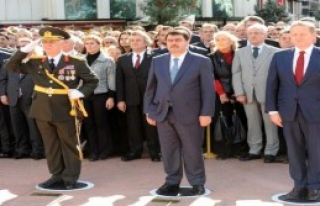 Taksim'de Cumhuriyet Bayramı Töreni