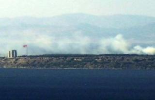 Tarihi Gelibolu Yarımadası'nda Korkutan Yangın
