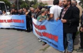 TBMM Önünde Kobani Eylemi