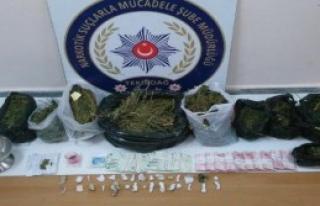 Tekirdağ'da Uyuşturucu Operasyonu