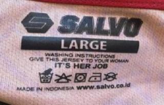 'Çamaşırları Eşinize Yıkatın' Etiketi
