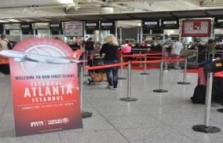 THY Atlanta'ya Direkt Uçmaya Başladı